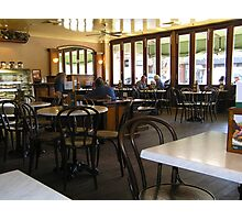 Inside the Dome coffee shop Photographic Print