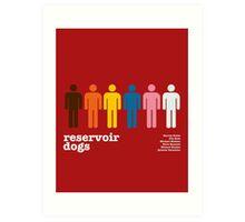 Reservoir Dogs Poster (Unfiltered) Art Print