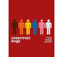 Reservoir Dogs Poster (Unfiltered) Photographic Print