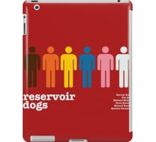Reservoir Dogs Poster (Unfiltered) iPad Case/Skin