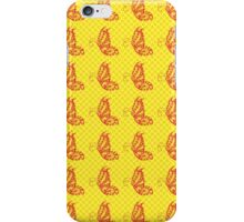 Fluttering Butterflies - Yellow And Orange iPhone Case/Skin