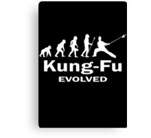 Kung- Fu Evolved Canvas Print