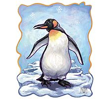 Animal Parade Penguin Photographic Print