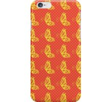 Fluttering Butterflies - Yellow And Orange 2 iPhone Case/Skin
