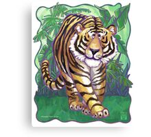 Animal Parade Tiger Canvas Print