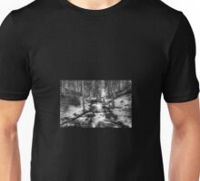 Stream in forest Unisex T-Shirt