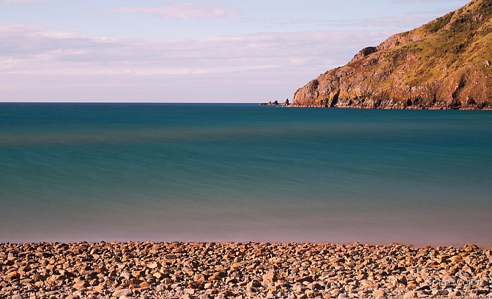 Cable Bay Pebbles by John Violet