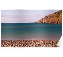 Cable Bay Pebbles Poster