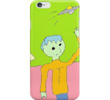 """""""Tommy Tries to Touch Tomorrow"""" by Richard F. Yates iPhone Case/Skin"""
