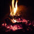 Winter Fire Place by HELUA
