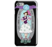 haunted lady iPhone Case/Skin