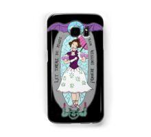 haunted lady Samsung Galaxy Case/Skin