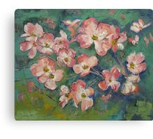 Dogwood Canvas Print