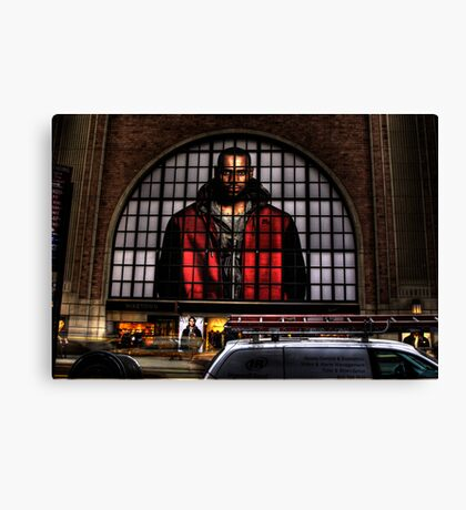NIKE STORE FRONT, NEW YORK Canvas Print
