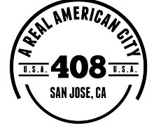 A Real American City San Jose CA by GiftIdea