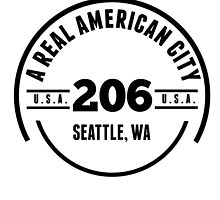 A Real American City Seattle WA by GiftIdea