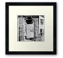 Washed Up Framed Print