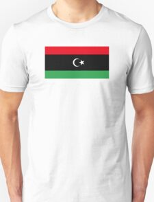 National Flag of Libya  T-Shirt