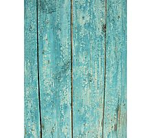 Old wood texture pattern for web background Photographic Print