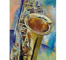 Saxophone Photographic Print