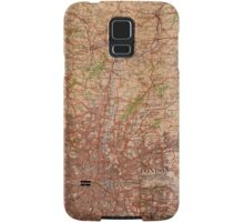 1945 vintage london map Samsung Galaxy Case/Skin