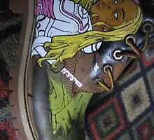 Custom shoes by Aestheticz .