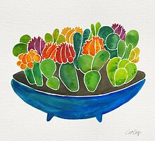 Painted Succulents by Cat Coquillette