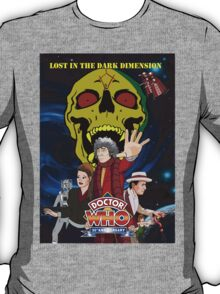 Doctor Who Lost in the dark dimension T-Shirt