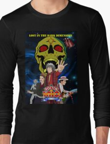 Doctor Who Lost in the dark dimension Long Sleeve T-Shirt