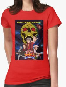 Doctor Who Lost in the dark dimension Womens Fitted T-Shirt