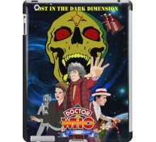 Doctor Who Lost in the dark dimension iPad Case/Skin