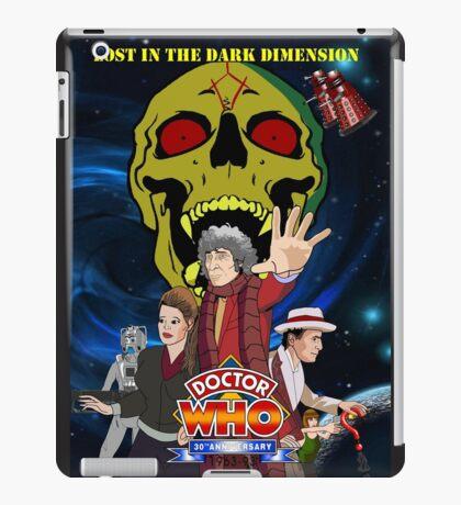 Doctor Who Lost in the dark dimension iPad Case/Skin