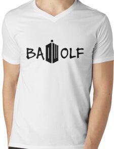 Doctor Who - Bad Wolf Mens V-Neck T-Shirt