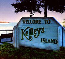 Welcome To Kelleys Island by Kenneth Krolikowski