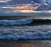 Breaking Waves by Kathy Weaver