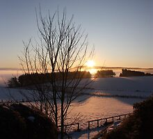 Winters morn' over Aberdeenshire by arekkusu