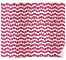 Pattern I - pink Poster