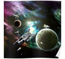 Space Fleet Poster