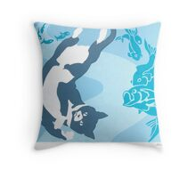 Jack's Dream - Screenprint Throw Pillow