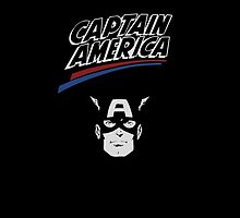 Captain america old school by mkey