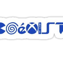 COEXIST (Gamers Edition) [2015] (Blue) Sticker