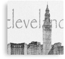 Cleveland's Landmark Metal Print