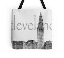 Cleveland's Landmark Tote Bag