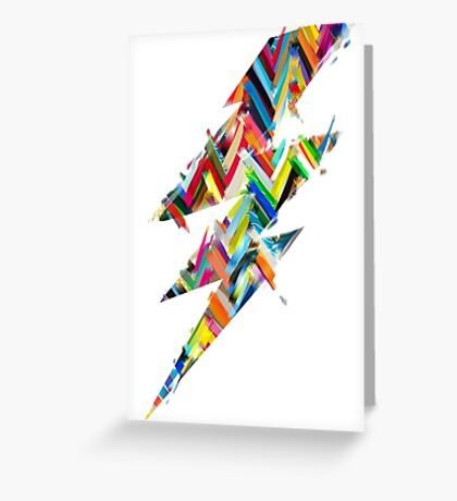 graphic lighting Greeting Card