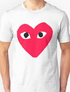 Comme Des Garcons Play CDG Heart T-Shirt