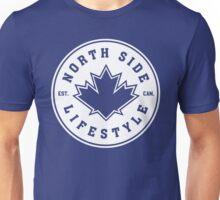 NSL Canada White Leaf Crest Unisex T-Shirt