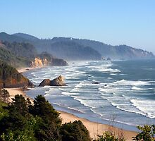 Pacific Coast by searchlight