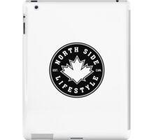 NSL Canada Black Leaf Crest iPad Case/Skin