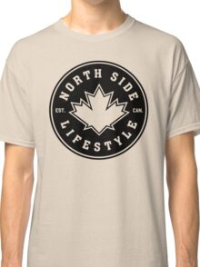 NSL Canada Black Leaf Crest Classic T-Shirt