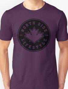 NSL Canada Black Leaf Crest T-Shirt